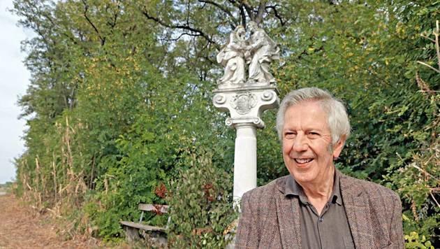 Kult-Autor Alfred Komarek war mit uns auf Spurensuche. (Bild: Klemens Groh, Kronen Zeitung)