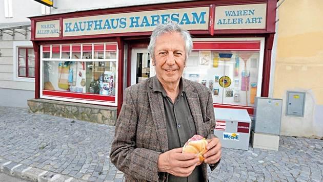 Die legendäre Gemischtwarenhandlung der Frau Aloisia Habesam. (Bild: Klemens Groh)