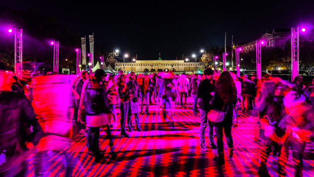 """""""Es werde Licht! Wien leuchtet wieder (Bild: Wien.gv.at)"""""""