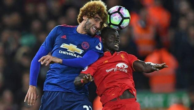 Liverpool und ManU trennen sich im Hit mit 0:0 (Bild: AFP)