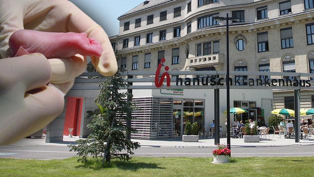 Das Wiener Hanusch-Krankenhaus schließt seine Geburtenstation. (Bild: dpa, Peter Tomschi)