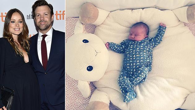 Olivia Wilde und Jason Sudeikis sind stolze Eltern der kleinen Daisy Josephine geworden. (Bild: Evan Agostini/Invision/AP, instagram.com/oliviawilde)