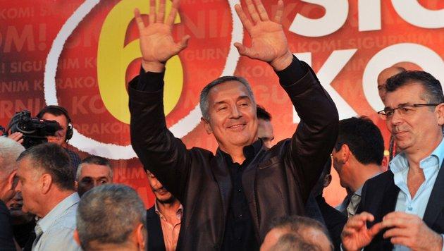 Milo Djukanovic (Bild: APA/AFP/Savo Prelevic)