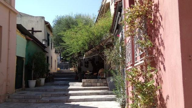 Teil 9: Essen und die Zeit vergessen in Athen (Bild: Max Rogers)