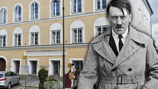 Verwirrung um Abriss von Hitlers Geburtshaus (Bild: APA/MANFRED FESL, AP)