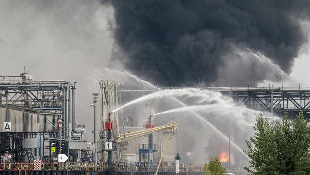 Explosion bei BASF: Tote und Schwerverletzte (Bild: Associated Press)