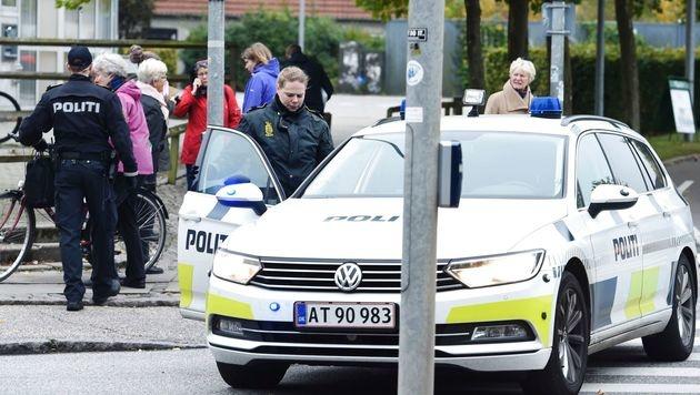 Dänemark: Flughafen und Einkaufscenter evakuiert (Bild: APA/AFP/Scanpix/CLAUS BECH)