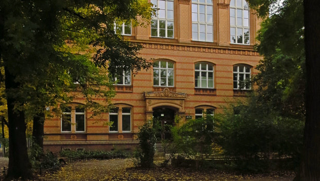 Die Herbert-Hoover-Realschule in Berlin-Gesundbrunnen (Bild: wikipedia.org/Sinuhe20)