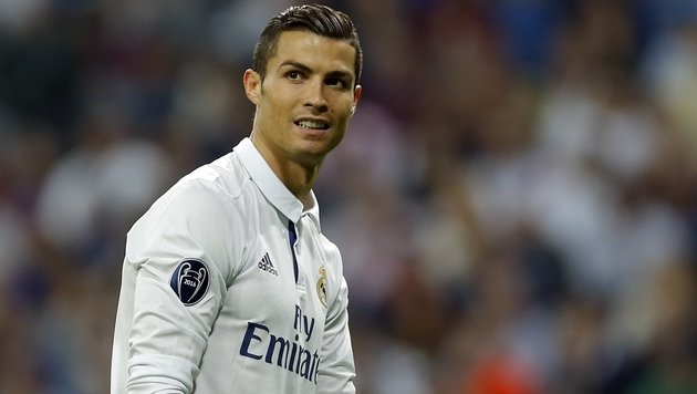 China-Klub bot Ronaldo 100 Millionen Jahresgehalt (Bild: Associated Press)