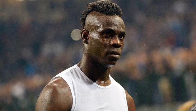 Nizza-Star Balotelli fällt gegen Salzburg aus! (Bild: GEPA)
