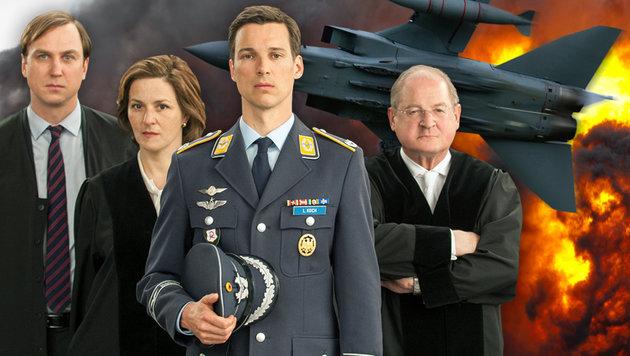 """""""Terror - Ihr Urteil"""": Pilot für Seher unschuldig (Bild: ORF/Degeto/Julia Terjung, thinkstockphotos.de)"""