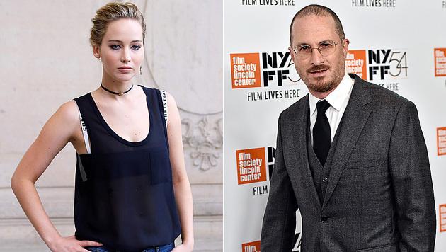 Jennifer Lawrence datet Darren Aronofsky. (Bild: APA/AFP/PATRICK KOVARIK, Evan Agostini/Invision/AP)