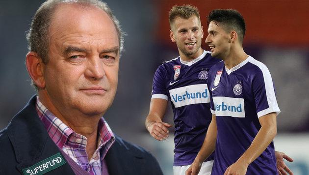 Austria gegen Roma wieder auf Überraschung aus (Bild: GEPA)