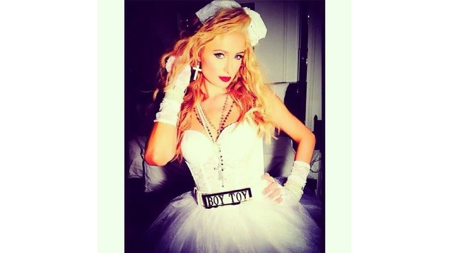 Paris Hilton als Madonna (Bild: Viennareport)