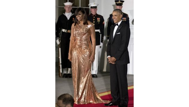 Michelle und Barack Obama (Bild: Copyright 2016 The Associated Press. All rights reserved.)