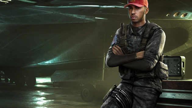 """Lewis Hamilton spielt im neuen """"Call of Duty"""" mit (Bild: Activision)"""