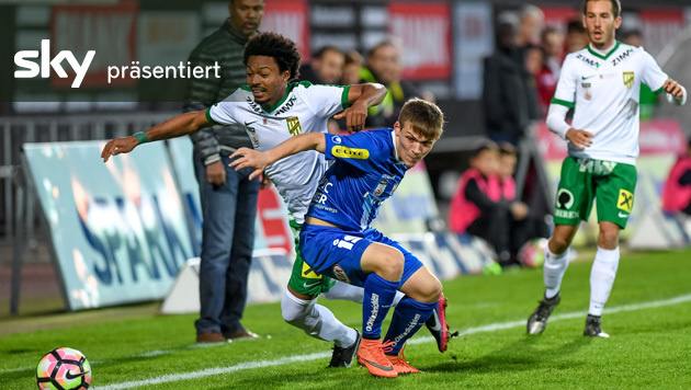 Austria Lustenau gegen Blau Wei� Linz endet torlos (Bild: GEPA)