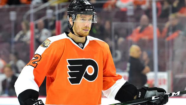 Michael Raffl verletzt sich bei Flyers-Niederlage (Bild: GEPA)