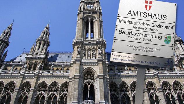 Stadt setzt bei Bezirksämtern den Rotstift an (Bild: Andi Schiel, APA/HANS KLAUS TECHT)