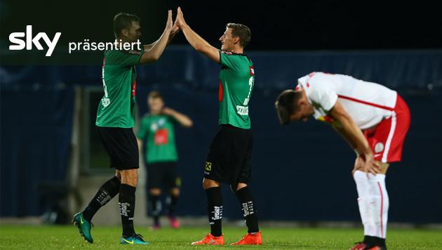 Wacker Innsbruck besiegt Liefering mit 2:1 (Bild: GEPA)
