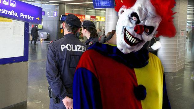 Wien: Schon zwei Schockmomente mit Grusel-Clowns (Bild: Andi Schiel, YouTube.com)
