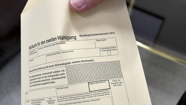 Wahlkarten-Anträge mit falscher Passnummer möglich (Bild: APA/HERBERT NEUBAUER)