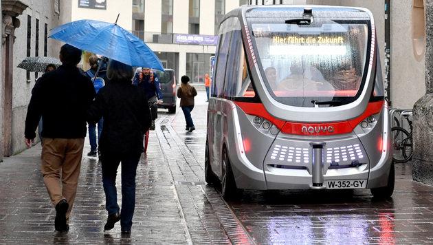 Selbstfahrende Autos bald auf Südautobahn bei Graz (Bild: APA/BARBARA GINDL)