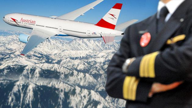 Lufthansa-Pilotenstreik geht bis Freitag weiter (Bild: APA/Austrian Airlines, dpa)