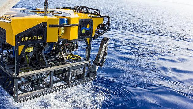 Mit diesem Tauchroboter wurden die Methanquellen entdeckt. (Bild: Schmidt Ocean Institute)