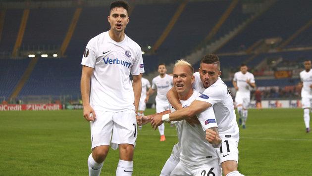 3:3 nach 1:3! Austria bärenstark bei der AS Roma (Bild: GEPA)