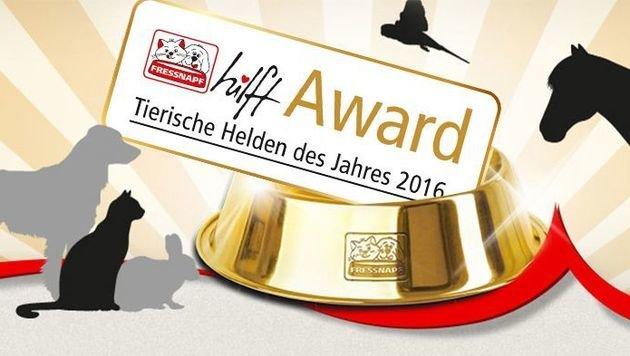 """Der """"Fressnapf hilft!""""-Award 2016 wurde verliehen (Bild: Fressnapf)"""