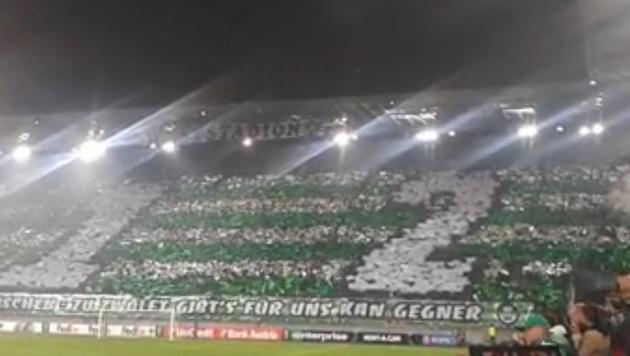 Die unfassbare Stimmung im Weststadion im Video! (Bild: krone.tv)