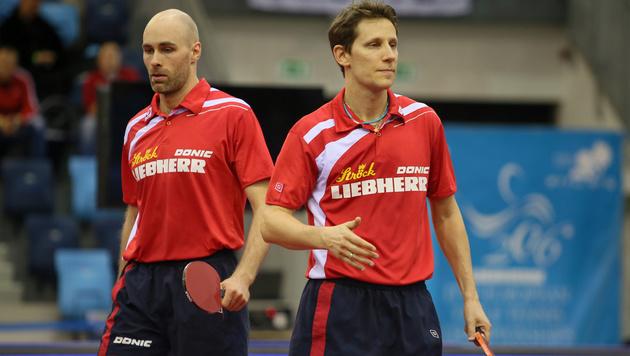 Gardos/Habesohn bereits in 1. Runde gescheitert (Bild: GEPA)