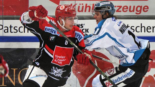 Innsbruck beendet Negativlauf gegen Linz (Bild: GEPA)