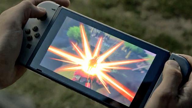 """Konsole und Handheld: Nintendo stellt """"Switch"""" vor (Bild: YouTube)"""