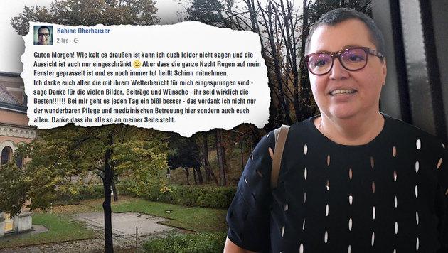 """Sabine Oberhauser: """"Mir geht es ein wenig besser"""" (Bild: APA/HELMUT FOHRINGER)"""