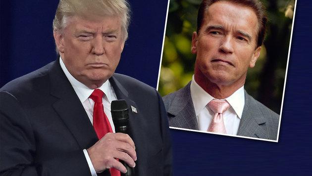 Schwarzenegger: Wegen Trump in Schwierigkeiten! (Bild: Viennareport)