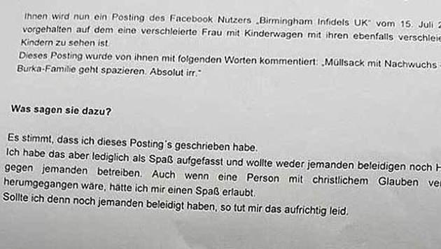 """""""""""Burka ist Müllsack"""": Verfassungsschutz ermittelt (Bild: ZVG)"""""""