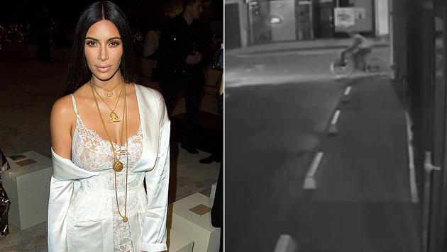 Ist hier etwa einer der Kardashian-Räuber auf der Flucht zu sehen? (Bild: Viennareport, YouTube.com)