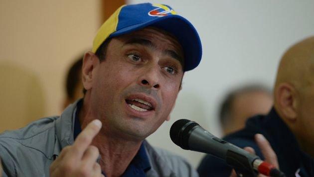 Oppositionsführer Henrique Capriles (Bild: APA/AFP/FEDERICO PARRA)