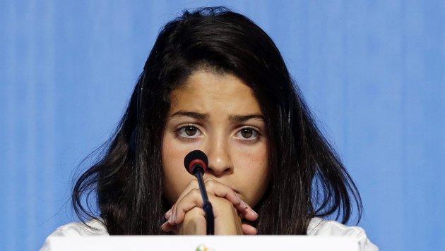 Yusra Mardini (Bild: EPA)