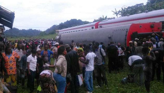 Kamerun: Dutzende Tote bei schwerem Zugunglück (Bild: facebook.com/Paul Mahel)
