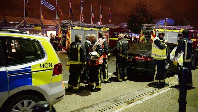 London: City Airport für drei Stunden geschlossen (Bild: Associated Press)