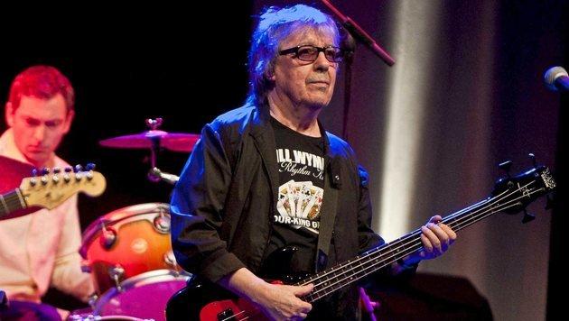 Rolling Stones-Altmeister Bill Wyman wird 80 (Bild: EPA/Miguel Tona)