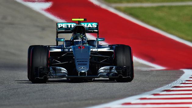 Rosberg Schnellster im Freien Training in Austin (Bild: GEPA)