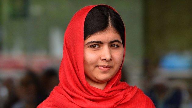Malala Yousafzai (Bild: AFP)