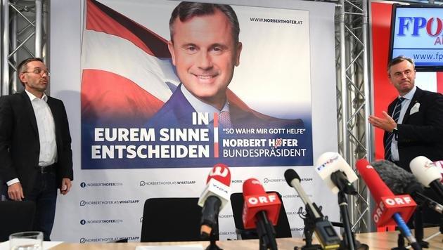 """Hofer bleibt dabei: """"Könnte Regierung entlassen"""" (Bild: APA/HELMUT FOHRINGER)"""
