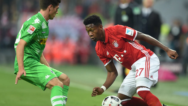 Alaba-Assist bei Bayern-Sieg gegen Gladbach! (Bild: AFP or licensors)