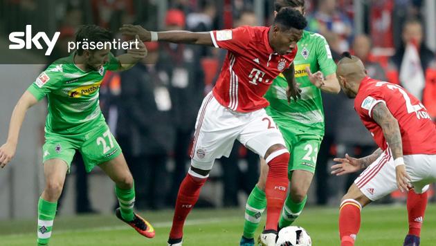 Bayern siegt gegen Gladbach 2:0 - das Video (Bild: AP)