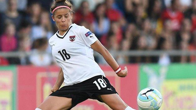 Fußball-Damen mit Super-Leistung gegen Deutschland (Bild: APA/HELMUT FOHRINGER)